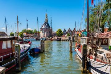 Old Harbor of Hoorn Netherlands