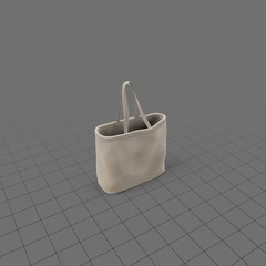 Tote bag with handles