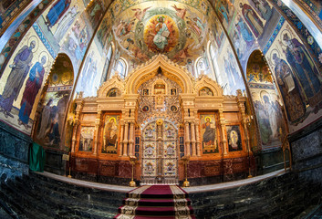 Altar of the Church of the Savior on Spilled Blood
