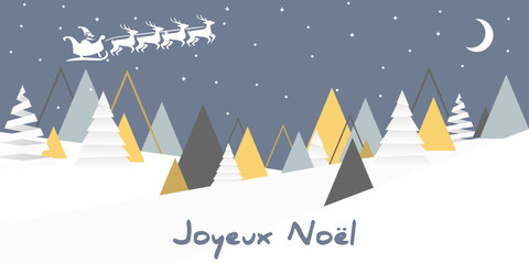 merry Christmas - joyeux noël - joyeuses fêtes - oribami background