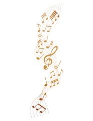 golden sheet music