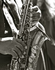 Sax Close Up