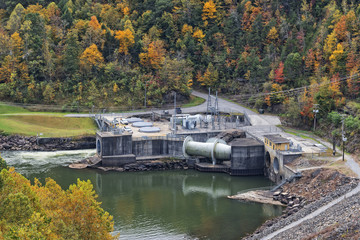 Lake Summersville Hydroelectric Facility