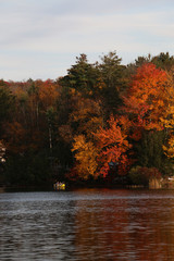 Canoeing in Autumn, View 2