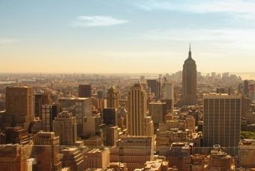 manhattan / new york city view