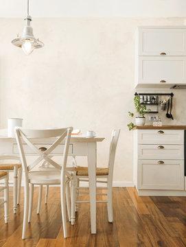 Modern vintage kitchen interior