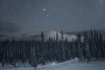 Stars at Big White