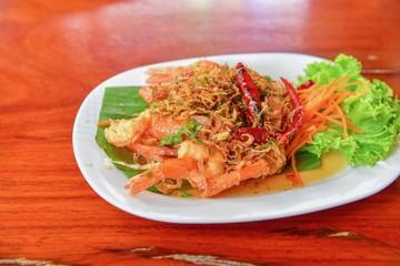 Thai-Style Prawns with Tamarind Sauce