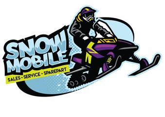 snowmobile shop sign design