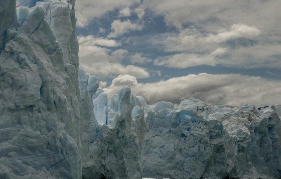 Perito Moreno glacier in Patagonia.