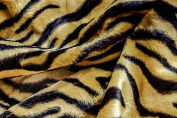 fabric tiger use for wallpaper background
