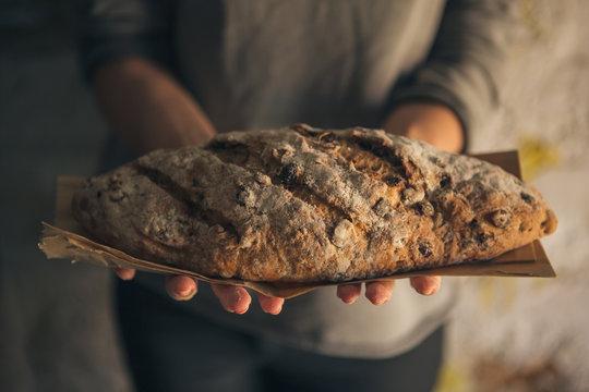 Home-Baked Raisin Bread