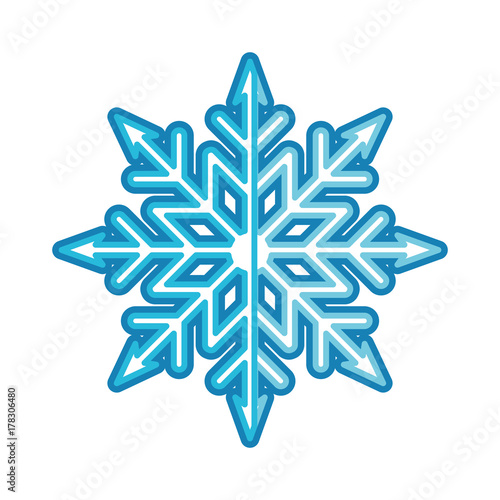 snowflake vector illustration stock image and royalty free vector
