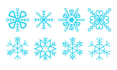 Snowflakes Vector Package