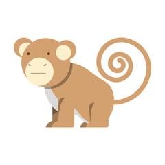 cartoon monkey icon
