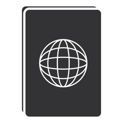 passport document isolated icon