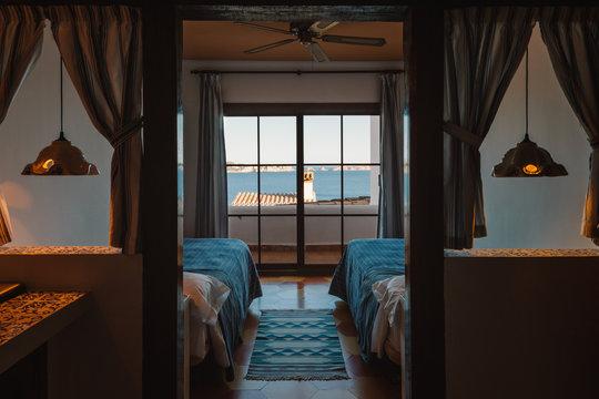 Rural Mediterranean Apartment Interior