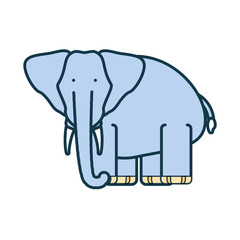 cartoon elephant icon