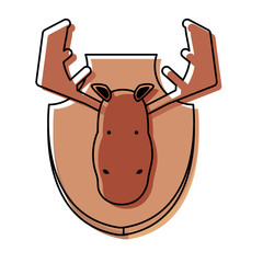 hunting trophy icon