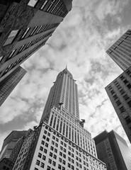 Chrysler Building from the street