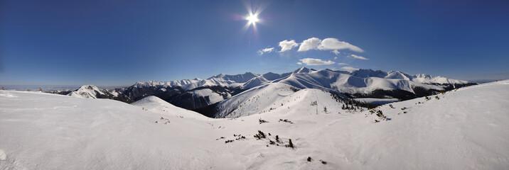 Grześ Zima - Panorama 360 - fototapety na wymiar