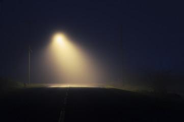 Foggy Street Fotomurales