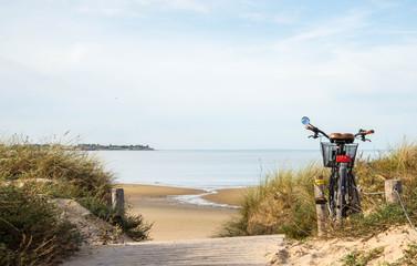 Vélo Plage Rivedoux Ile de Ré France