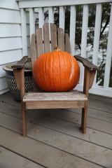 Orange Halloween Pumpkin