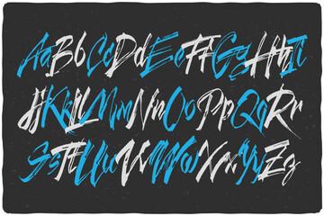 Handcrafted vector calligraph