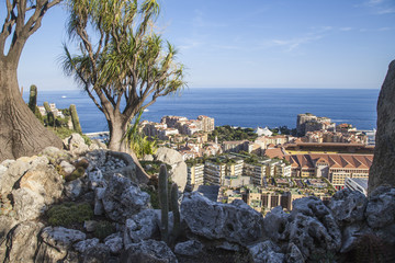 vue plongeante sur Monaco