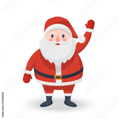 734c69abab8e Christmas Santa Claus icon on a white background