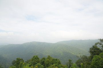 The nature of view point at Khao Yai national park in Thailand
