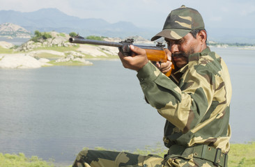 Young Indian Soldier