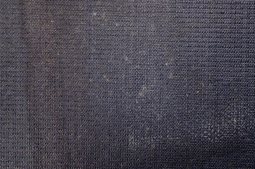 Old Dark Blue Book Cover Close-Up Background Texture
