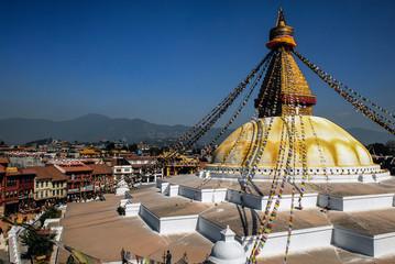 Nepal kathmandu Swayambhunath Stupa monkey temple