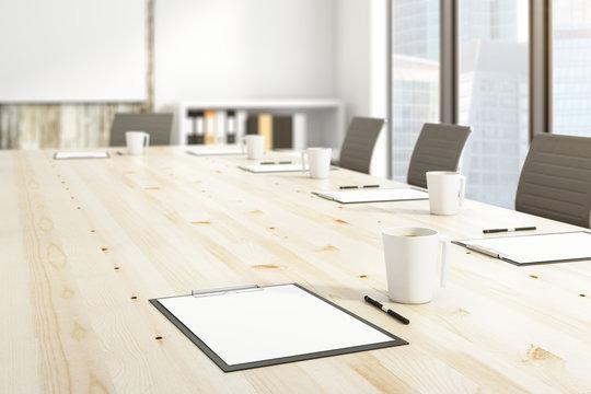 Boardroom concept