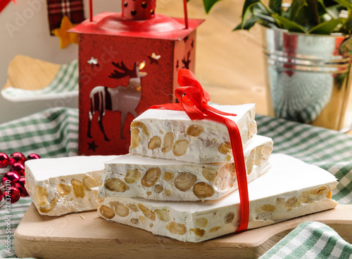 Dolci Di Natale Torrone.Torrone Dolce Di Natale Stock Photo And Royalty Free