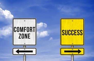 Career decision - comfort zone or success