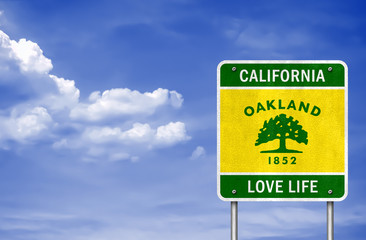 California - Oakland motto love life