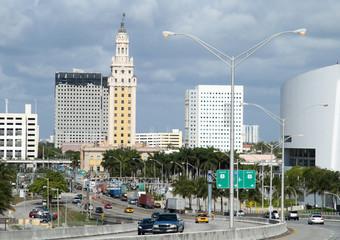 Miami Downtown Entrance