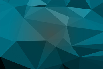 Background of geometric shapes, colorful mosaic pattern.