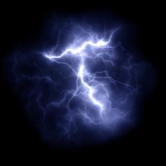 thunder lightning in the night