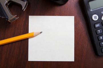 Desk Note
