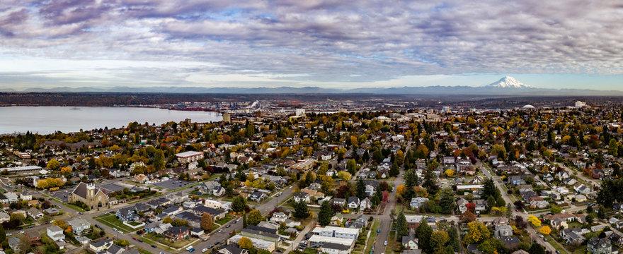 Tacoma Washington on a Fall Day
