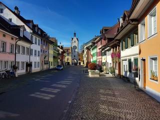 Die historische Altstadt von Diessenhofen