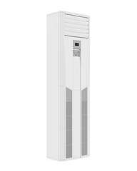 Floor Standing Air Conditioner Isolated