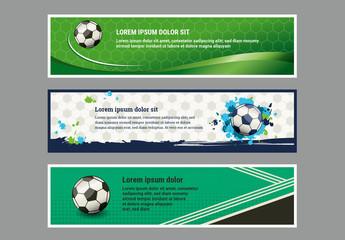 Soccer Banner Set