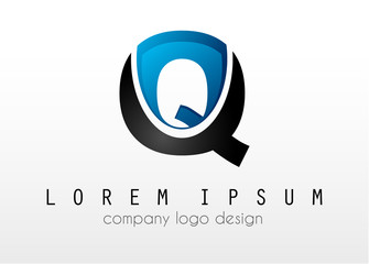 Creative Logo letter Q design for brand identity, company profile or corporate logos