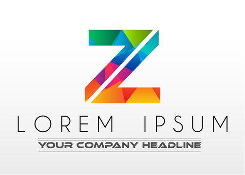 Creative Logo letter Z design for brand identity, company profile or corporate logos