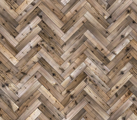 Herringbone natural larch parquet seamless floor texture
